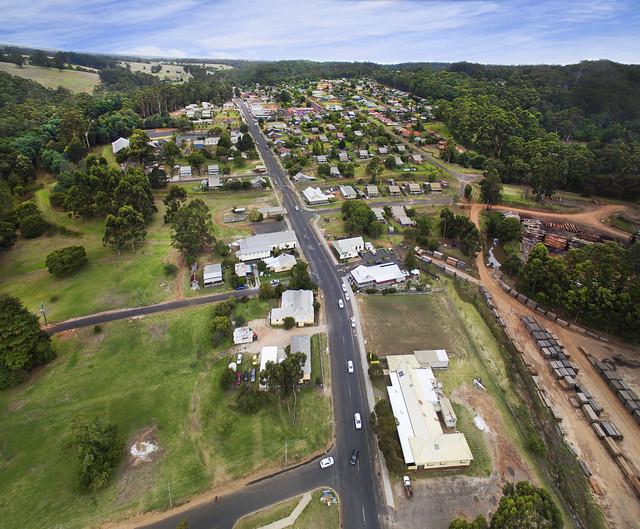 Pemberton town site, Western Australia