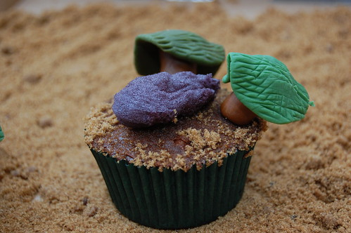 Lost Smoke Monster Cupcake | by katipeck