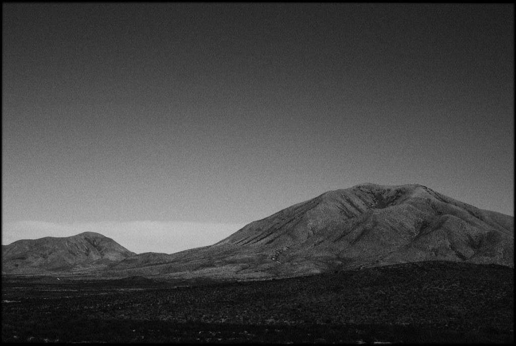 Mountains at Sierra Blanca, Texas