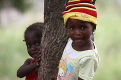 Two girl child, Mozambique, Africa | by E. B. Sylvester