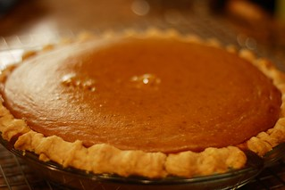 Pumpkin Pie from a *real* pumpkin | by browniesfordinner
