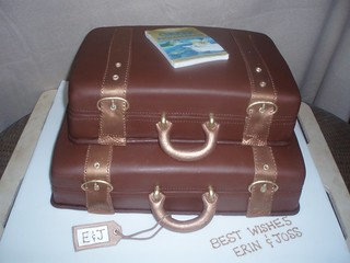 suitcase cake | by JaneBK