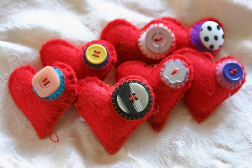 Hearts with Buttons | by Pictures by Ann