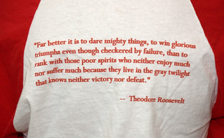 Teddy Roosevelt Quote | by Photos from the blog at LetTeddyWin.com