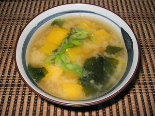 Butternut Squash and Wakame Miso Soup | by Kevin - Closet Cooking