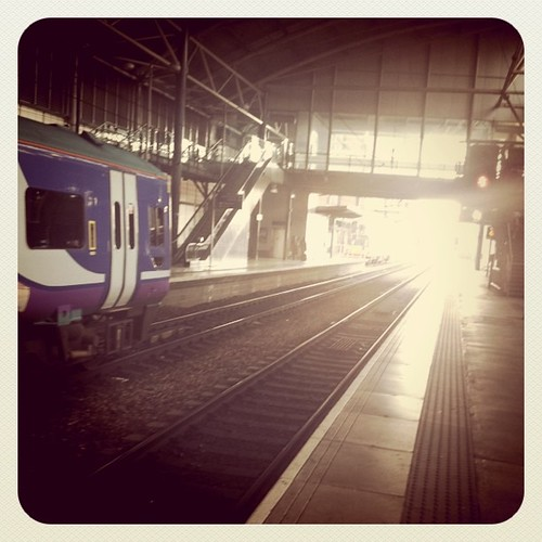 Homebound: waiting for the Manchester train... | by 7 Wonders In 7 Days