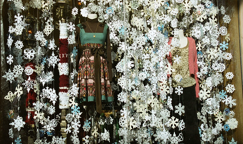 Anthropologie's window display | by Alison Chains