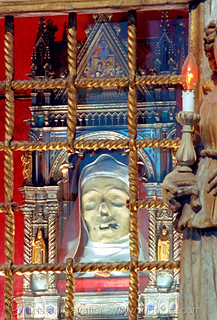 Incorrupt Head of Saint Catherine of Siena (Italy) | by loupiote (Old Skool) pro