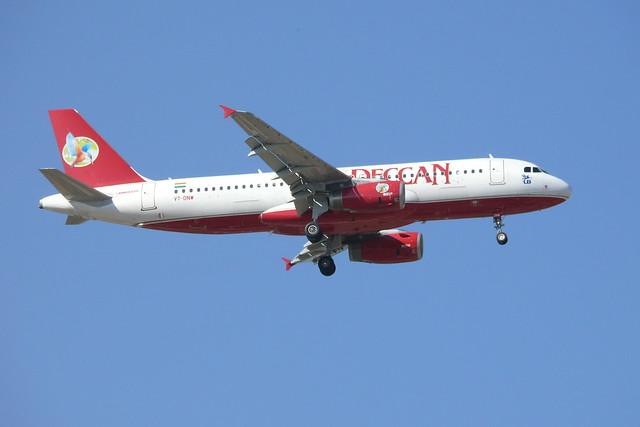 Deccan Airbus A320