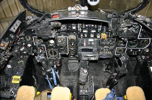 Hawker Hunter Cockpit | by G. Weir
