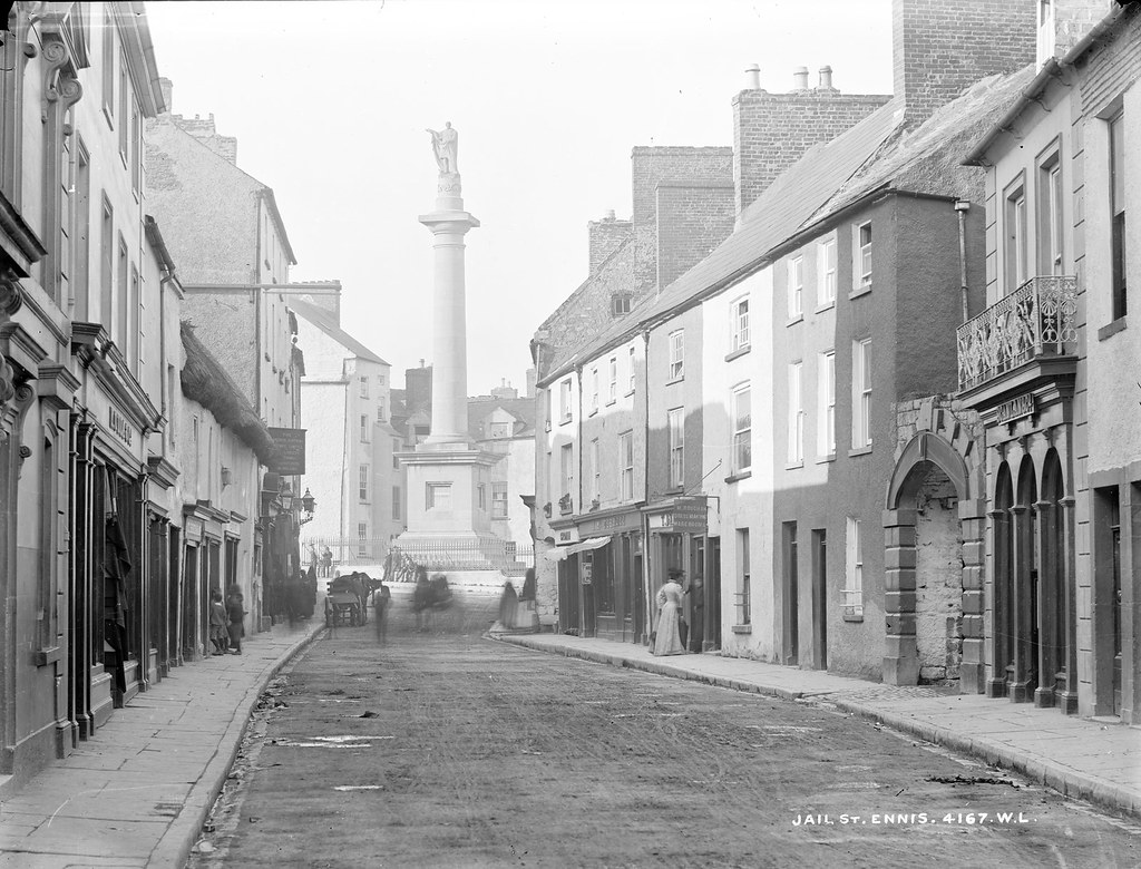 Jail St. Ennis | by National Library of Ireland on The Commons