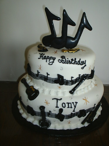 birthday cake for music lovers Flickr - Photo Sharing!