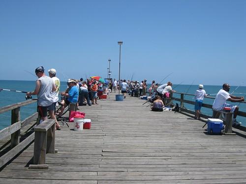 Kure beach fishing pier flickr photo sharing for Kure beach fishing report