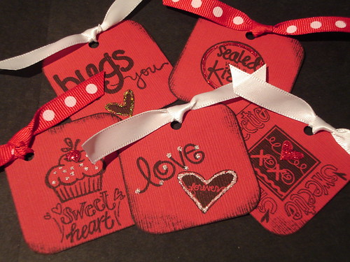 Valentine's Tags | by ascrappydesign