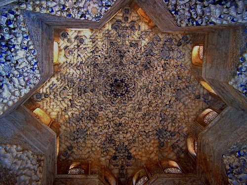 Inside the Dome  at Nasrid's Palace, Alhambra, Spain - October 2007 | by SaffyH