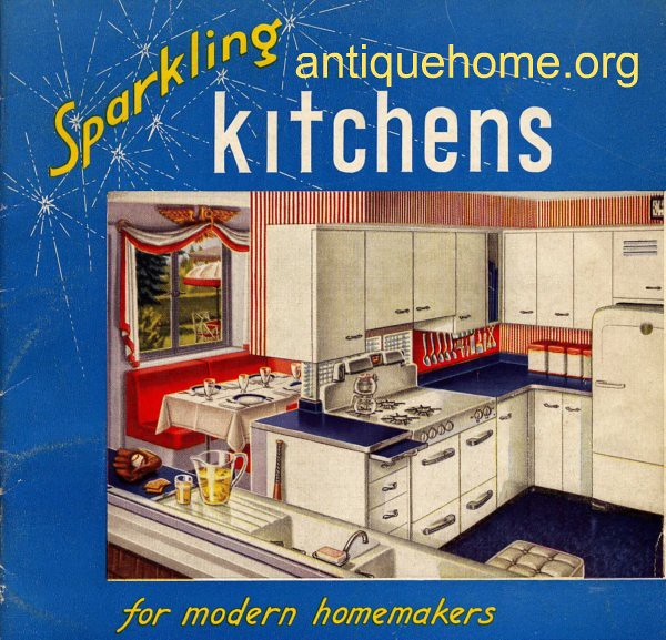 Sparkling Kitchen: Sparkling Kitchens - Kitchen Designs Of The 1950s