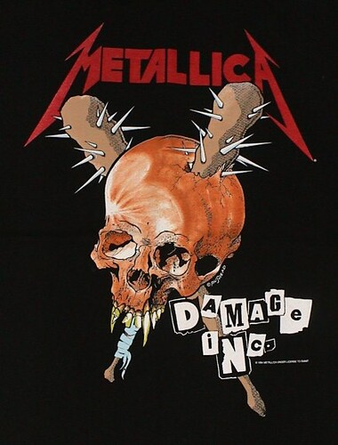 Metallica Pushead Damage Inc (1) | by Manxom Vroom