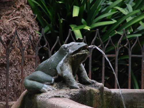 frog fountain ornament, Barcelona Cathedral | by SeppySills