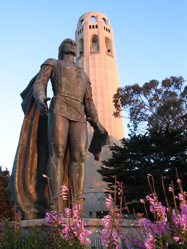 columbus-and-coit-tower | by nxsy