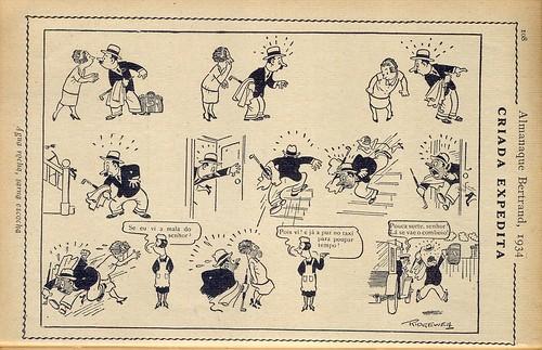 Almanaque Bertrand, 1934 - Ridgewell 8
