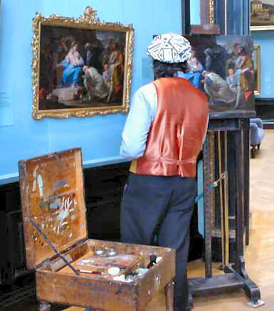 Painter at Kunthistorisches Museum, Wien | by Monica Arellano-Ongpin