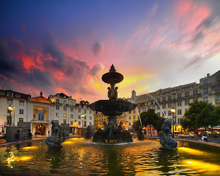 Rossio At Dusk | by Louis Dobson (formerly acampm1)