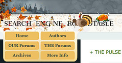 Thanksgiving Theme at the Search Engine Roundtable | by rustybrick