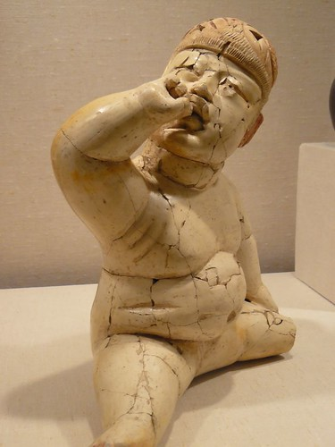 Baby Figure Mexico Olmec 12tho-9th century BCE Ceramic | by mharrsch