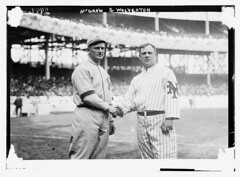[Harry Wolverton, New York AL, at left and John McGraw, New York NL, at right at the Polo Grounds, NY, 1912 (baseball)]  (LOC) | by The Library of Congress