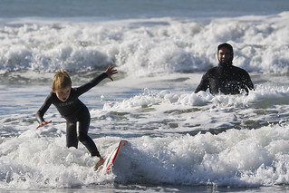 Father and son surf lesson in Morro Bay, CA 11 of 12 | by mikebaird