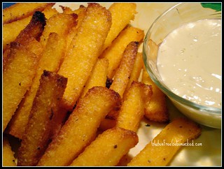 GF:  Crispy Polenta Fries with Alio Oli | by Kate Chan