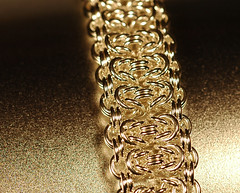 Byzantine Bar Chain Maille Bracelet | by cMaille