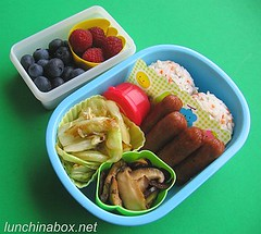 Multi-sauteed bento lunch for preschooler | by Biggie*