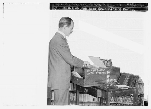 Printing the Bain News Service Photos  (LOC) | by The Library of Congress