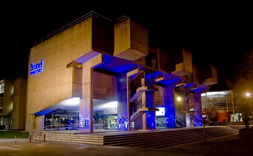 Brunel Lecture centre at night | by the_defiance