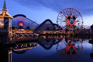 Paradise Pier, Disney California Adventure, Disneyland Resort in California | by Mastery of Maps