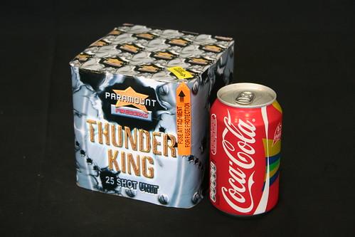 thunder king fireworks 25 shot