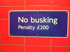 No busking | by butterr