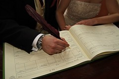 Signing of Marriage License | by James Harrison Jr.