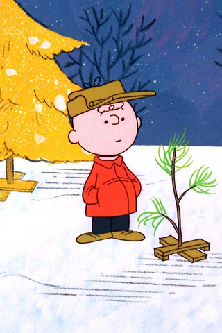 Charlie Brown Christmas Tree Shopping / Kit Cowan, via Flickr