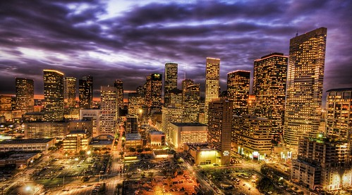 Houston at Sunset | by Stuck in Customs
