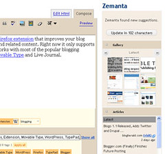 Blog better using Zemanta | by debuchakrabarty