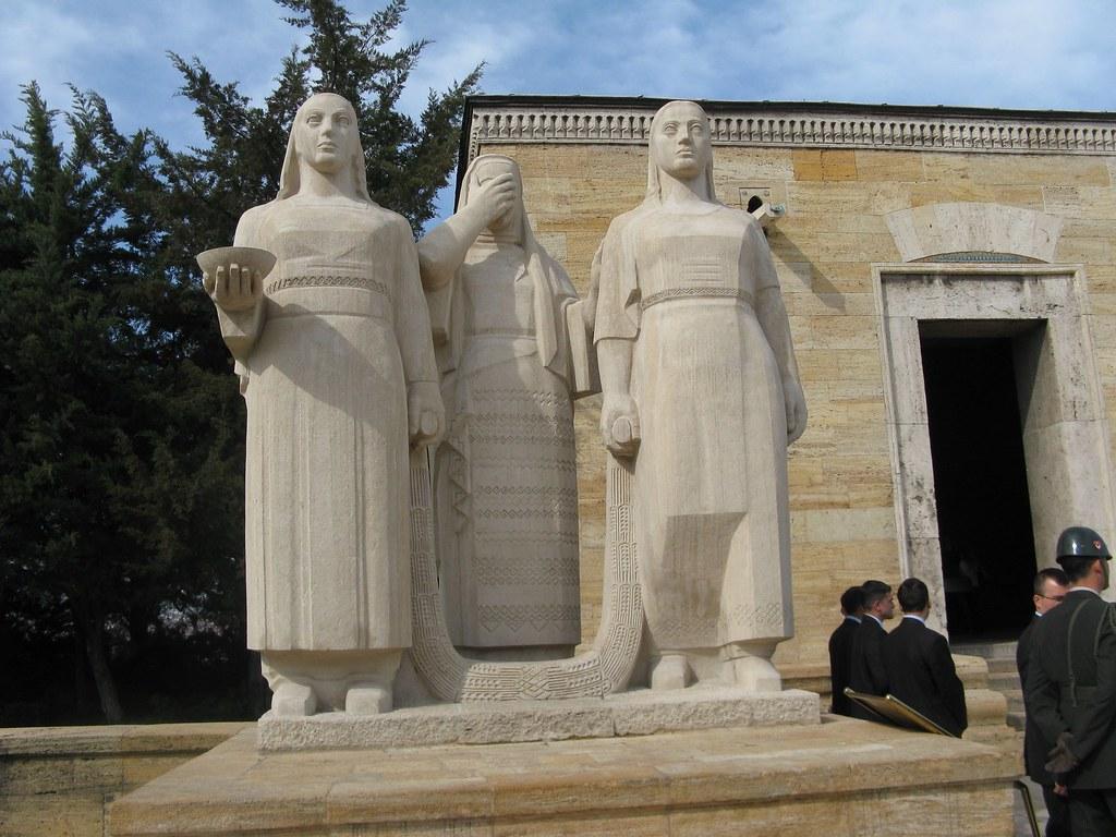 Statues in Anitkabir