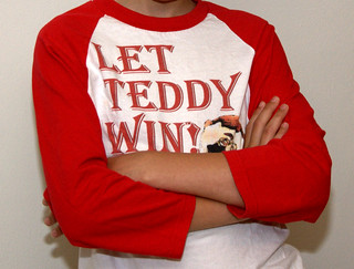 Let Teddy Win kids long sleeve jersey | by Photos from the blog at LetTeddyWin.com