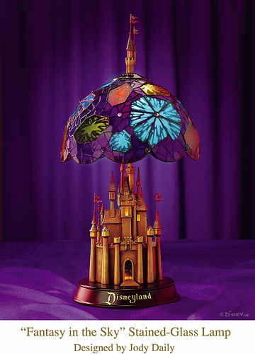 Disneyland Castle Stained-Glass Lamp | by Miehana