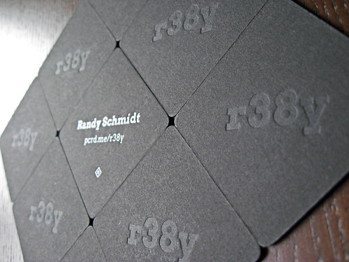 Letterpress Pupcard (@r38y) | by dolcepress