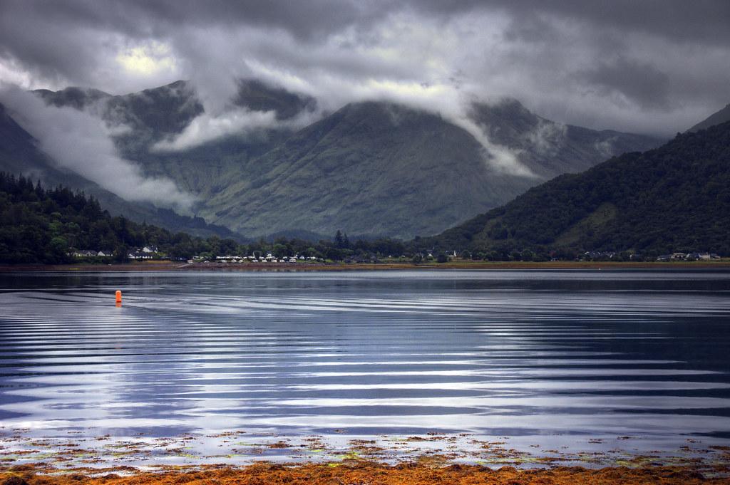 Loch Leven. Scotland