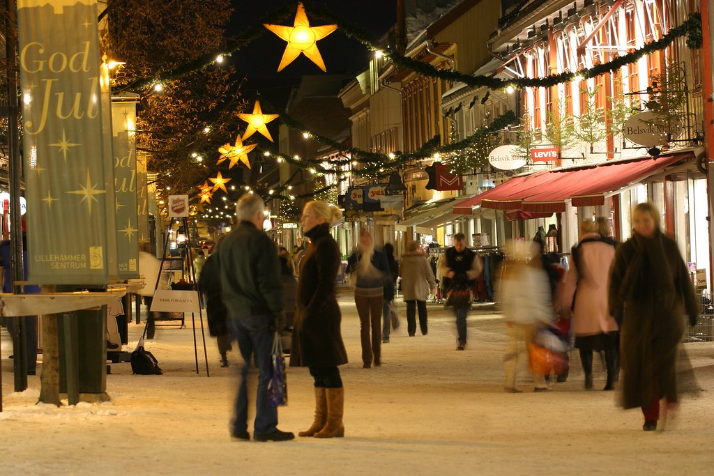 Image result for norway christmas street