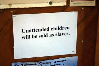 unattended children will be shot. | by passiveaggressivenotes