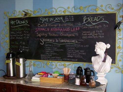 Cafe Menu Board Letters